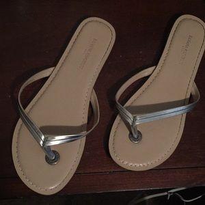 Banana Republic flip flops